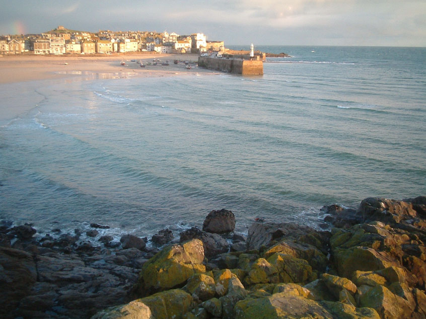 View of St Ives Cornwall