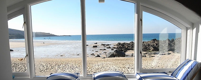 Lower Saltings Holiday Apartment, Porthmeor Beach St Ives, Cornwall