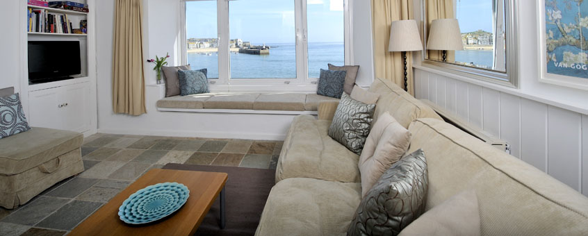 Swell Seaside Holiday Cottage St Ives Cornwall Men An Mor Home Interior And Landscaping Ologienasavecom