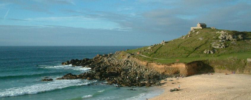Porthmeor beach location | St Ives | Cornwall | Beach Shacks
