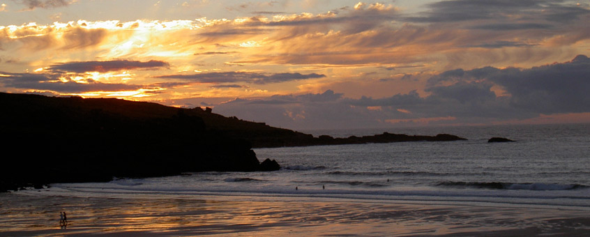 Porthmeor beach location | St Ives | Cornwall